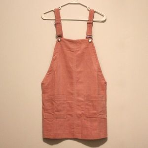 BRAND NEW F21 Corduroy Overall Dress